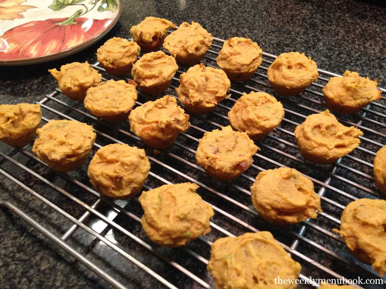 Sweet Potato Casserole Muffins #TheCasualVeggie - The ...
